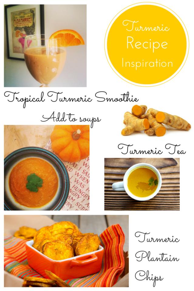 anti-inflammatory turmeric recipes