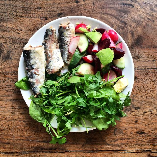 Sardines - a healthy happy glow