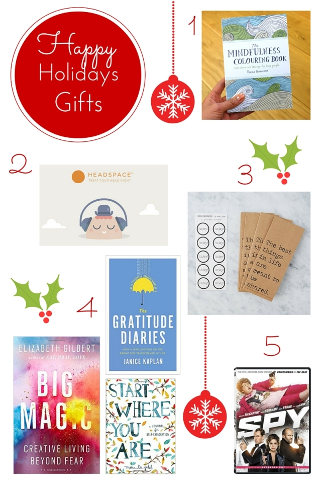 Happy Holiday Gift Ideas