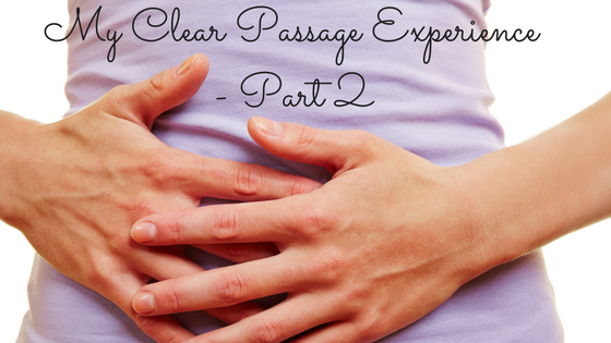 My Clear Passage Experience - part 1 (2)